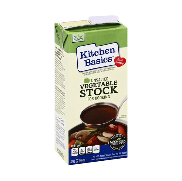Kitchen Basics Unsalted Vegetable Stock 907g