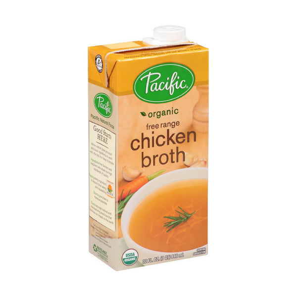 Imagine Organic Vegetarian No Chicken Broth Low Sodium 946ml