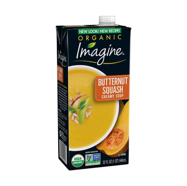 Imagine Organic Butternut Squash Creamy Soup 946ml