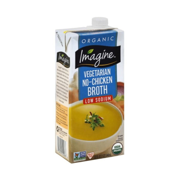 Imagine Vegetarian No Chicken Broth 946ml