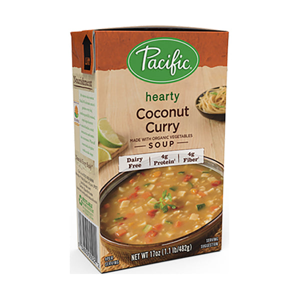 Pacific Coconut Curry Soup OG 482g