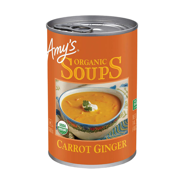 Amy's Carrot Ginger Soup OG 403g