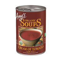 Amy's Cream of Tomato Soup Low Fat OG 411g