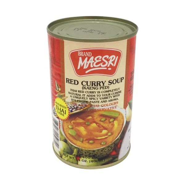 Maesri Red Curry Soup 400ml