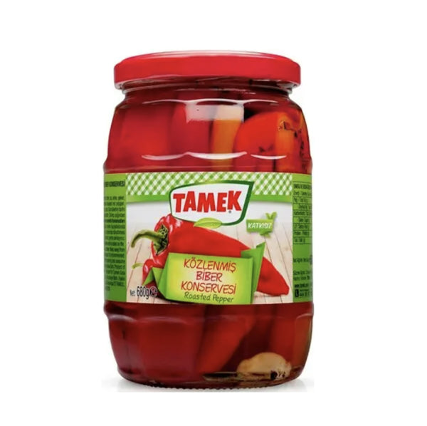 Tamek Közlenmiş Biber (Roasted Red Pepper) 650g