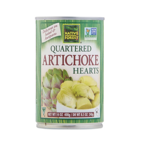 Native Forest Quartered Artichoke Hearts (Enginar) 400g