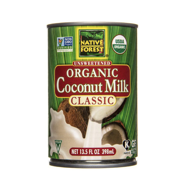 Native Forest Unsweetened Coconut Milk Classic OG (Hindistan cevizi sütü) 13.5 FL OZ
