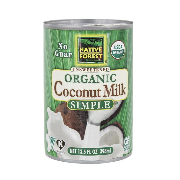 Native Forest Unsweetened Coconut Milk Light OG (Hindistan cevizi sütü) 13.5 FL OZ