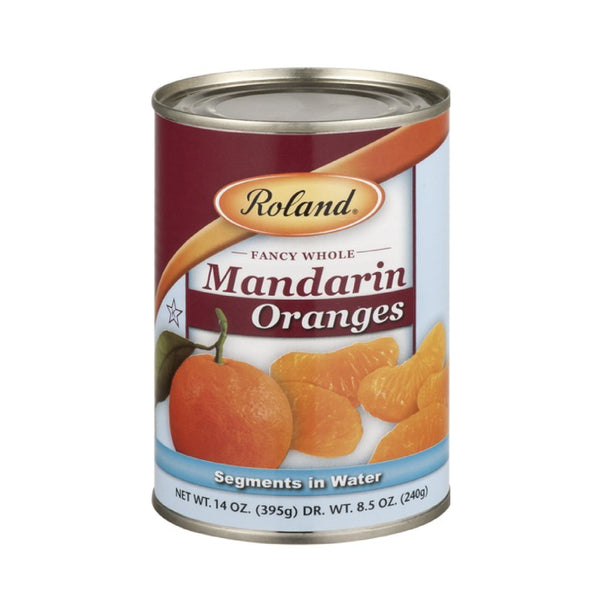 Roland Mandarin Oranges Whole Segments in Water 397g