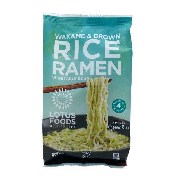 Lotus Foods Ramen Wakame & Brown Rice 2.80oz