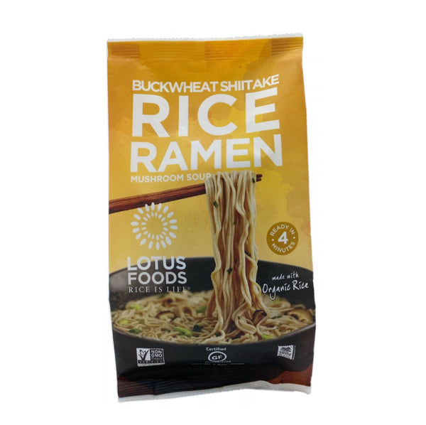 Lotus Foods Ramen Buckwheat Shiitake 2.80oz