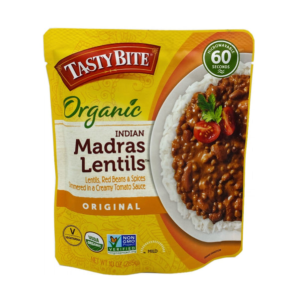 Tasty Bite Organic Madras Lentils Original 10oz