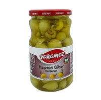 Yakamoz Haşmet Biber Turşusu (Pickled Cherry Peppers) 650g
