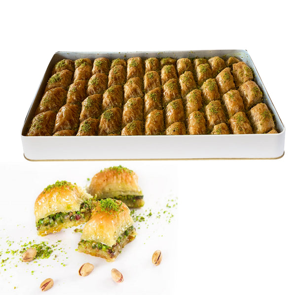 Ekstra Fıstıklı Baklava by Weight (Double Pistachio )
