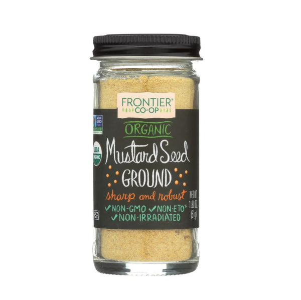 Frontier Co op Organic Mustard Seed Ground 1.8oz