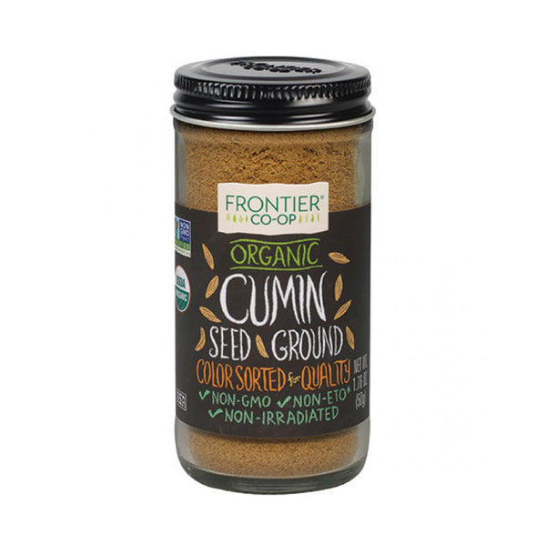 Frontier Co op Organic Cumin Seed Ground 1.76oz