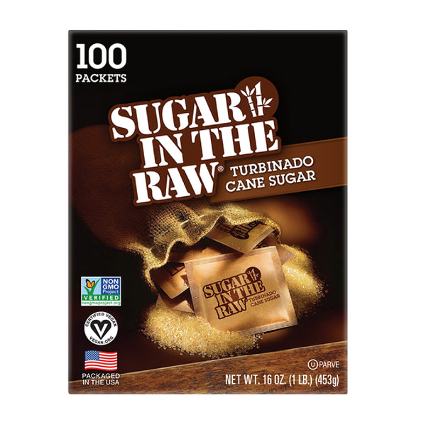 Sugar In The Raw 100 Packets