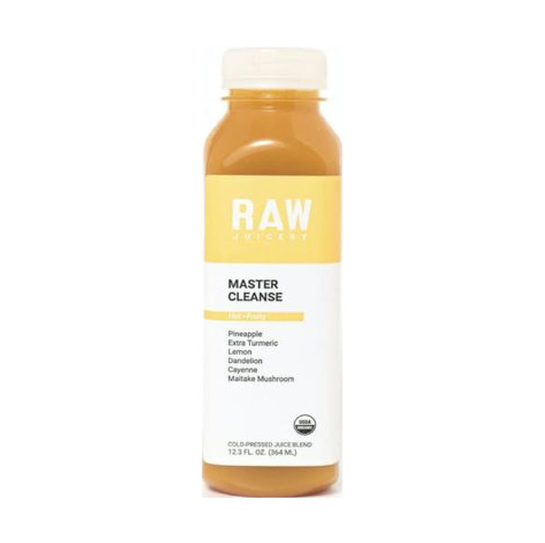 Raw Juicery Master Cleanse Cold Pressed Organic Juice Blend 12.3floz