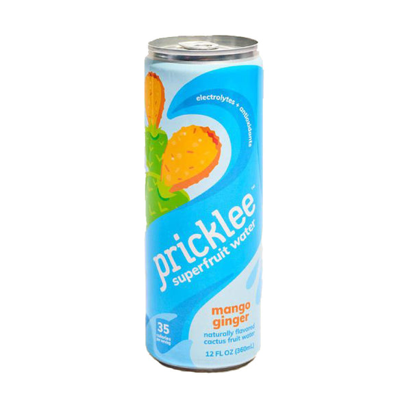 Pricklee Superfruit Water Mango Ginger 12floz
