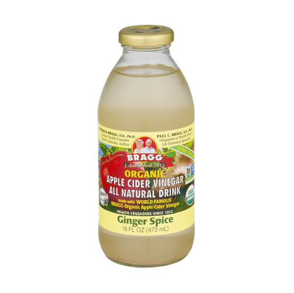 Bragg Organic Apple Cider Vinegar Drink Ginger 16floz