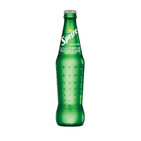 Sprite Mexico Glass Bottle 12floz