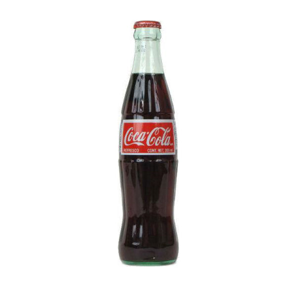 Mexican Coca Cola Glass Bottle 12floz