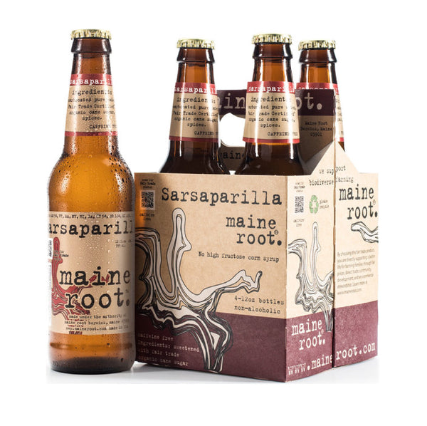 Maine Root Sarsaparilla 4x12oz