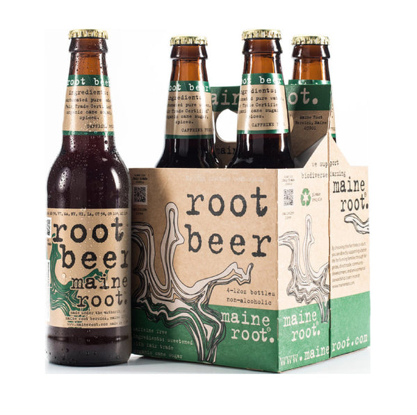 Maine Root Root Beer 4x12oz