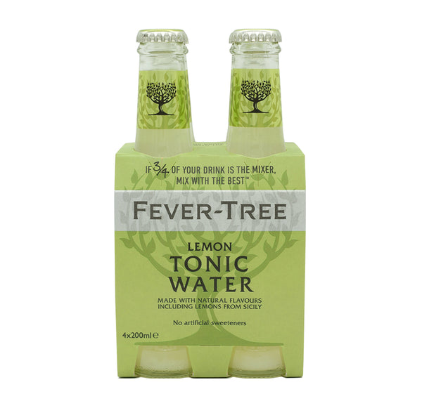 Fever Tree Lemon Tonic Water 4x6.8floz