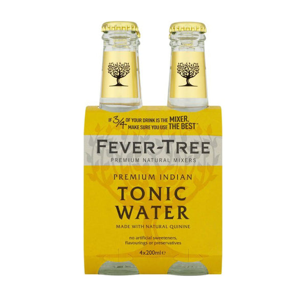 Fever Tree Premium Indian Tonic Water 4x6.8floz