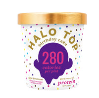 Halo Top Birthday Cake Ice Cream (300cal) 1pt