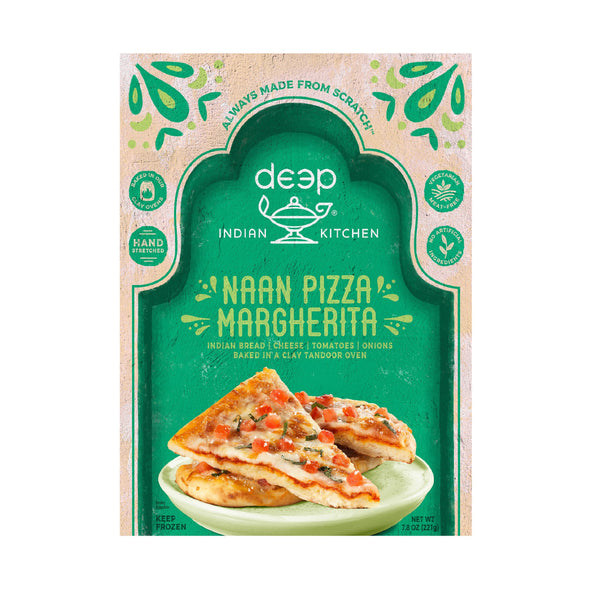 Deep Indian Kitchen Naan Pizza Margherita  7.8oz