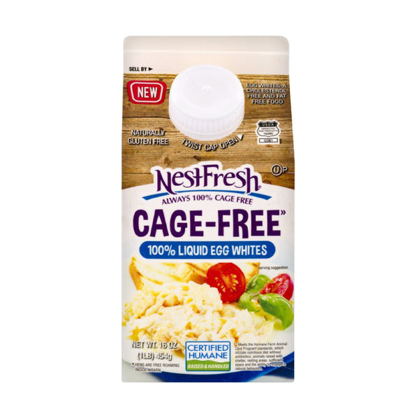 Nestfresh Cage Free 100% Liquid Egg Whites 16oz