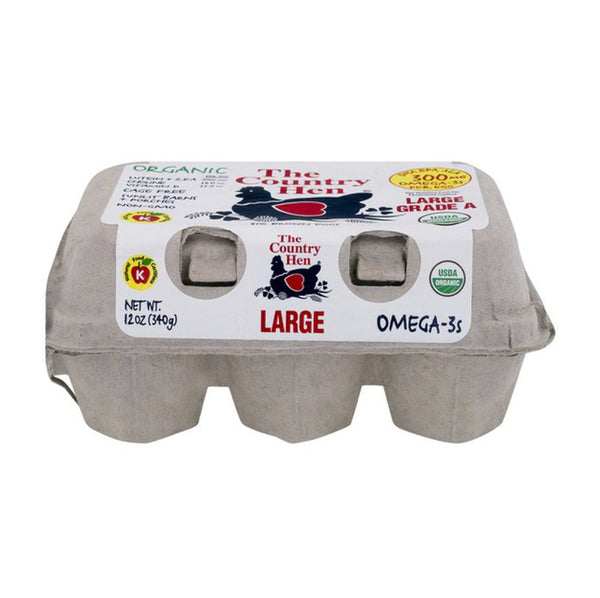 The Country Hen Free Range Extra Large Grade A 13.5oz