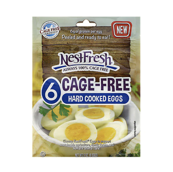 Nestfresh Cage Free Hard Cooked Eggs 6 each