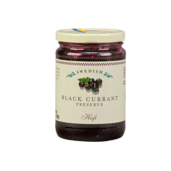Hafi Swedish Black Currant Preserves Jar 400g