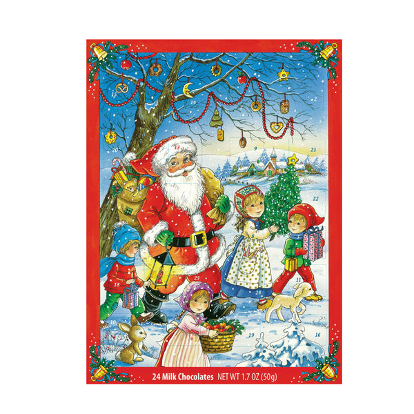 Windel Advent Calendar 24 Milk Chocolate  50g