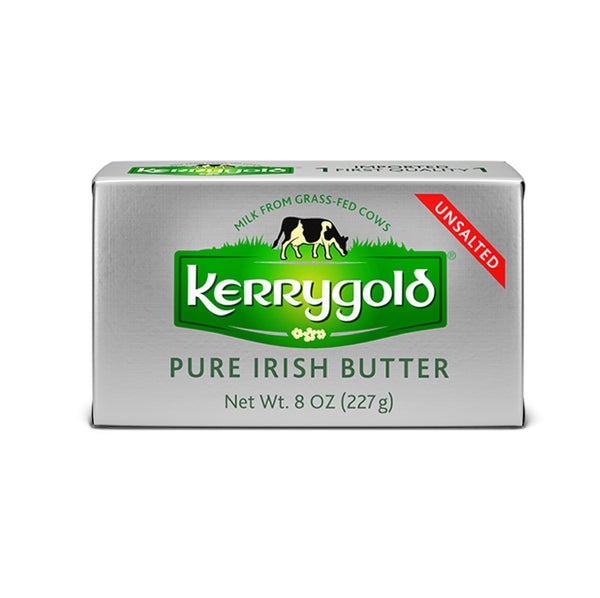 Kerrygold Pure Irish Butter Unsalted 8oz