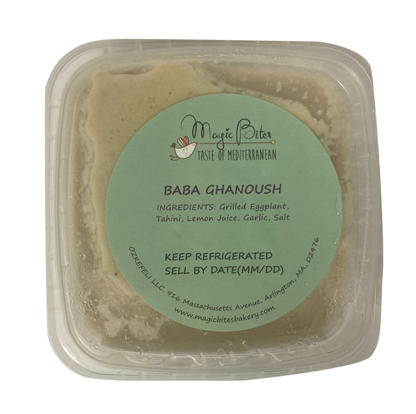 Magic Bites Baba Ghanoush 8oz