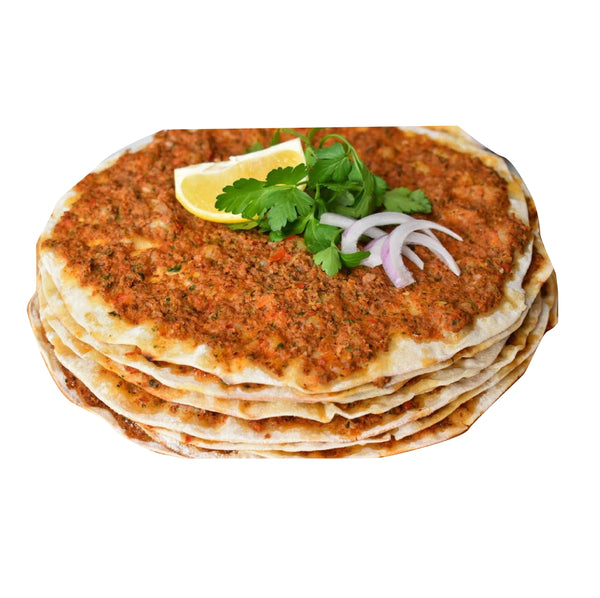 Freerange Lahmacun Large Size 6 adet (Turkish Pizza)