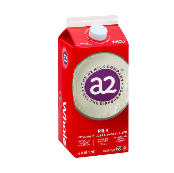 A2 Whole Milk Vitamin D Ultra Pasteurized  1.74L