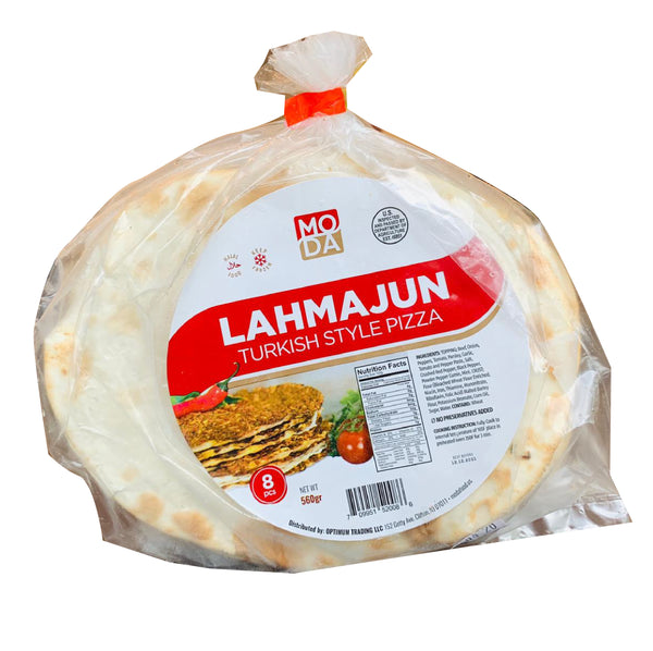 Moda Lahmacun Lahmacun Small Size 8pcs (Turkish Pizza)