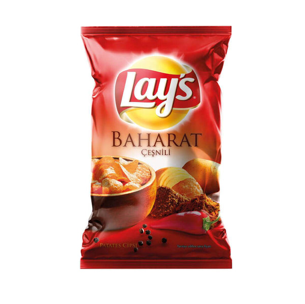 Lays Baharatli Chips 107g