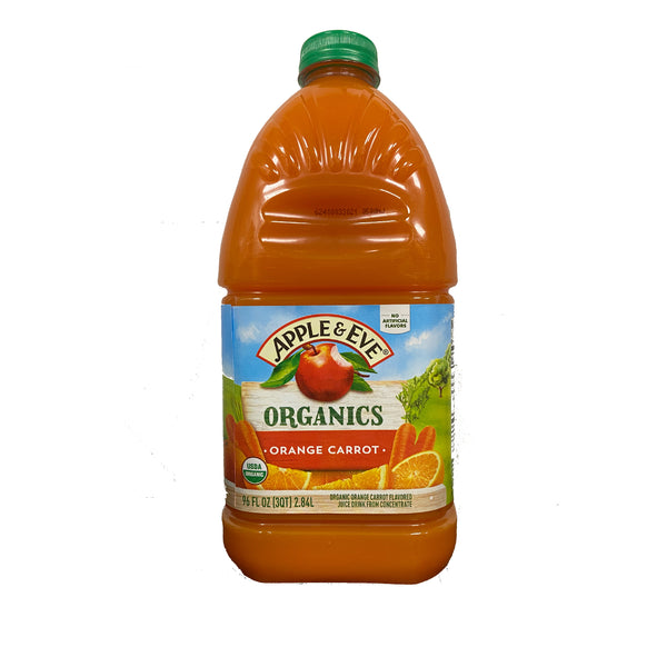 Apple & Eve Organics Orange Carrot 96oz