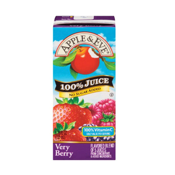 Apple & Eve Very Berry 6.75oz
