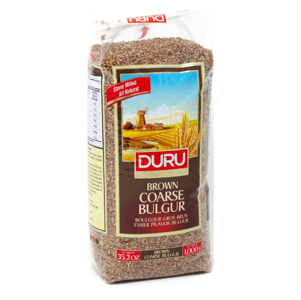 Duru Brown Coarse Bulgur (Esmer Pilavlık Bulgur) 1000g