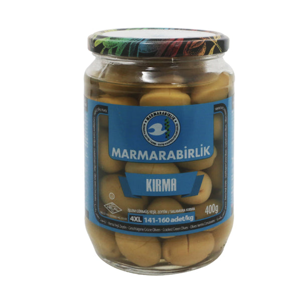 Marmarabirlik Kırma Zeytin (Cracked Green Olives) 400g