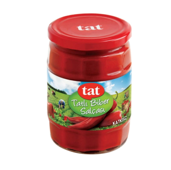 Tat Sweet Red Pepper Paste 550g