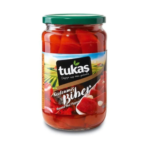 Tukaş Közlenmiş Biber (Roasted Red Pepper) 680g