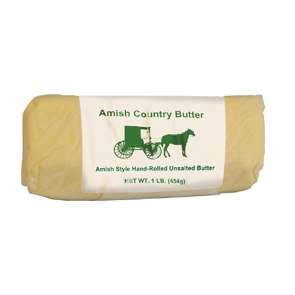 Amish Country UnSalted Roll Butter - 1 Pound